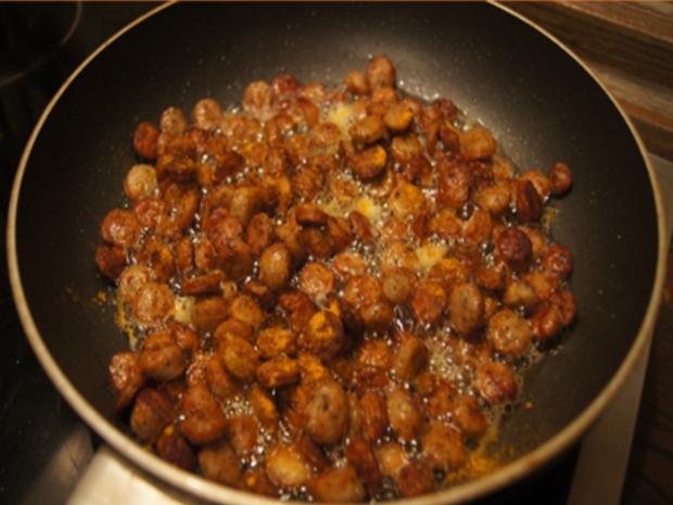 Kartoffel-Linsen-Eintopf mit Würstcheneinlage - Rezept - Bild Nr. 14