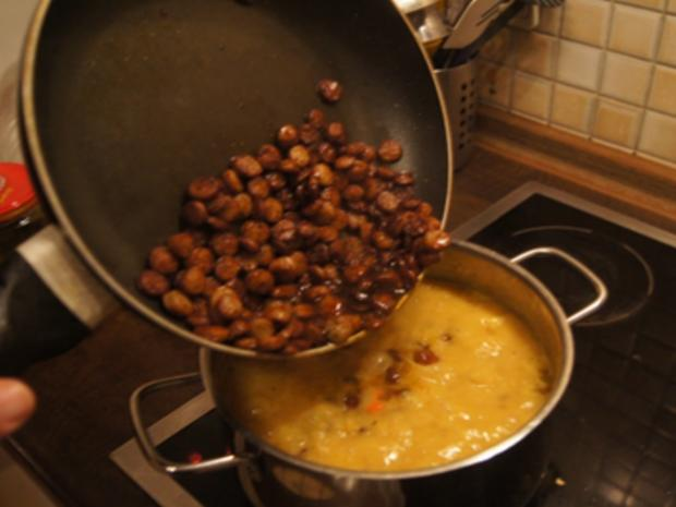 Kartoffel-Linsen-Eintopf mit Würstcheneinlage - Rezept - Bild Nr. 15