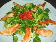 Feldsalat mit Putenstreifen - Rezept - Bild Nr. 2