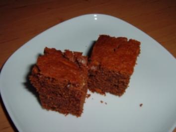 Brownies mit Pinienkernen - Rezept