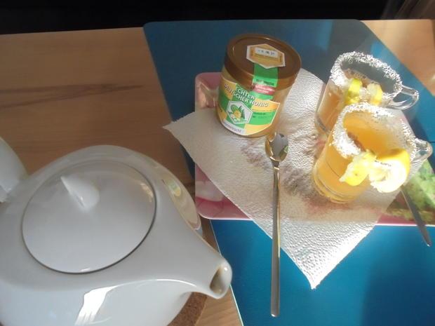 Tee mit Zitrone - Thé au citron - Rezept - Bild Nr. 4