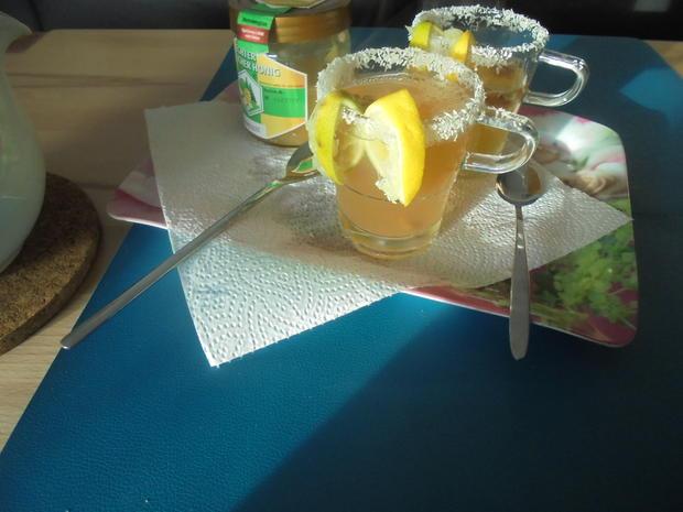 Tee mit Zitrone - Thé au citron - Rezept - Bild Nr. 2