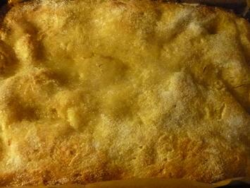 Zuckerkuchen mit Schmand und Sahne - Rezept - Bild Nr. 2