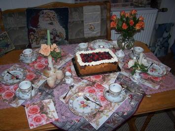 Quark-Mascarpone-Früchte Kuchen - Rezept - Bild Nr. 2