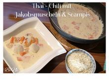 BiNe` S THAI - CHILI MIT JAKOBSMUSCHELN & SCAMPIS - Rezept - Bild Nr. 7
