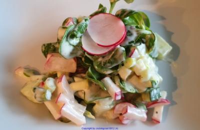 Rezept: Frischer Salat im Winter zum Sonntagsbraten