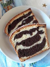 Zebra-Rührkuchen - Rezept - Bild Nr. 2