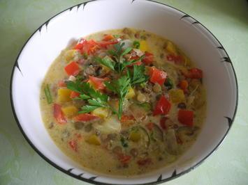 Bunte Suppe mit gekeimten Linsen - kochbar Challenge 1.0 (Januar 2020) - Rezept - Bild Nr. 9778