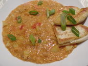 Rote-Linsen-Curry mit Pita - Rezept - Bild Nr. 2