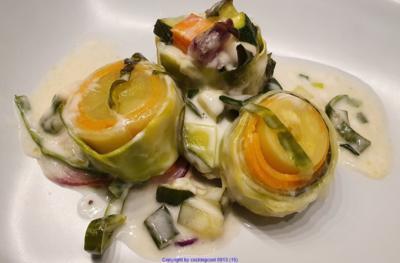 Gemüse Sushi = kochbar Challenge 1.0 (Januar 2020) hübsch angerichtet schmeckt es noch mal - Rezept - Bild Nr. 2