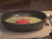 Petersilien-Spinat-Suppe mit Rote Bete Chips - Rezept - Bild Nr. 2