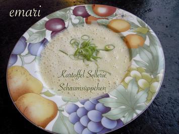 Kartoffel Sellerie Schaumsüppchen - Rezept - Bild Nr. 2