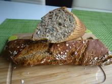 Dinkel-Baguette mit Körnern und Walnüssen - Rezept - Bild Nr. 12