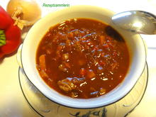 Suppe:   GULASCHSUPPE   pikant - Rezept - Bild Nr. 2