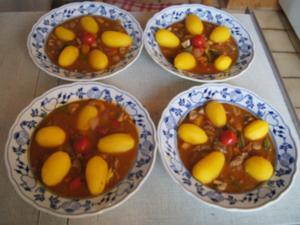 Schweinefiletcurry mit Gemüsemix im Wok und Drillinge - Rezept - Bild Nr. 2