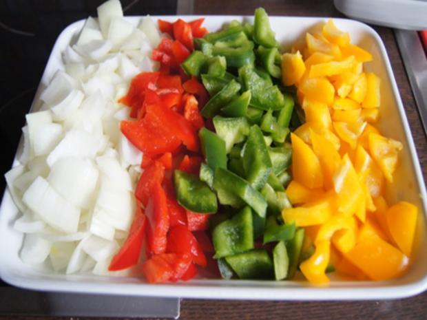 Schweinefiletcurry mit Gemüsemix im Wok und Drillinge - Rezept - Bild Nr. 11