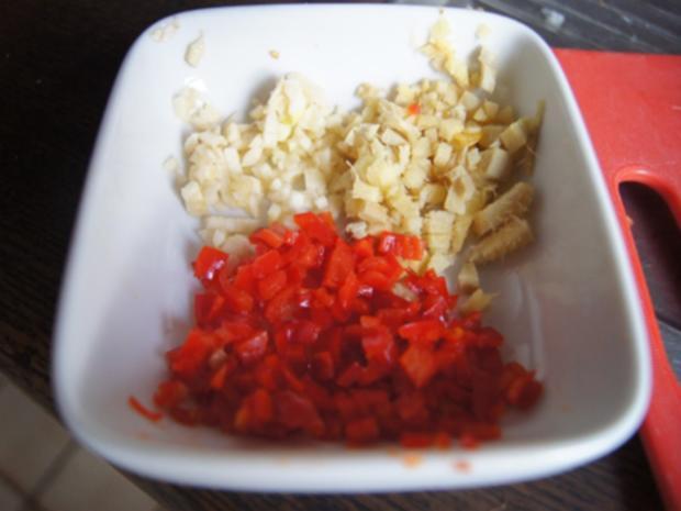 Schweinefiletcurry mit Gemüsemix im Wok und Drillinge - Rezept - Bild Nr. 9842