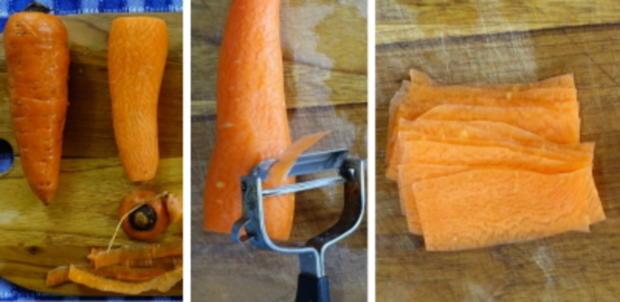 Scharfe Zucchini-Rouladen mit Rindfleisch- und Gemüsefüllung - Rezept - Bild Nr. 6