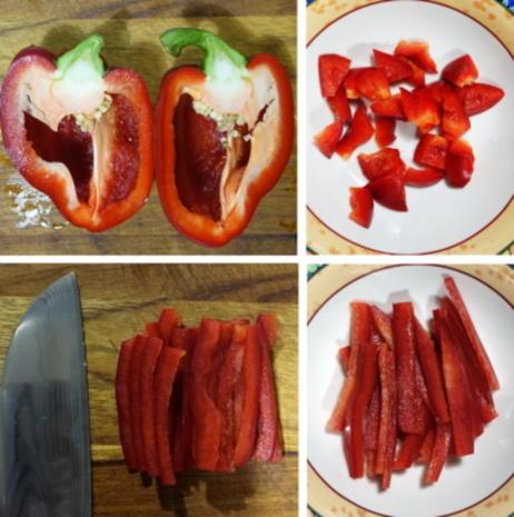 Scharfe Zucchini-Rouladen mit Rindfleisch- und Gemüsefüllung - Rezept - Bild Nr. 11