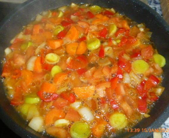 Geschmorte Bohnen mit Maishähnchen - Rezept - Bild Nr. 5