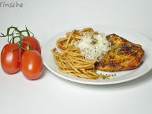 Maishähnchenbrust mit Tomatenspaghetti - Rezept - Bild Nr. 2