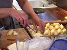 Süße Mozzarella-Röllchen mit Pistazieneis - Rezept - Bild Nr. 2