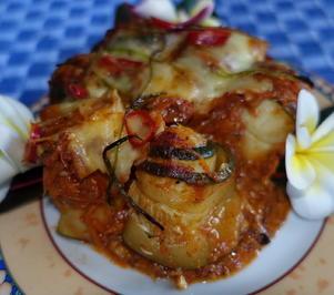 Zucchini-Involtini mit Shimeji-Pilzen - Rezept - Bild Nr. 2