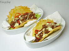 Käsetacos gefüllt mit Hack, Paprika, Salat & Avocadocreme - Rezept - Bild Nr. 11
