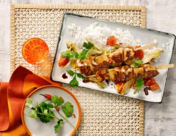 Spicy Chicken Spieße - Rezept - Bild Nr. 9858