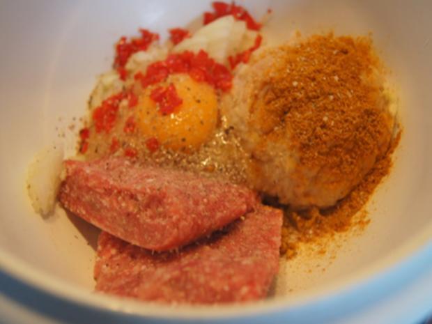 Scharf, pikanter Spitzkohl mit Mettbällchen und Möhren-Kartoffel-Stampf - Rezept - Bild Nr. 14