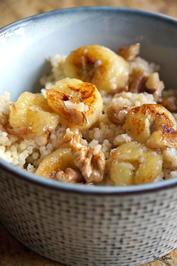 Frühstück: Hirse-Porridge mit karamellisierter Banane - Rezept - Bild Nr. 2