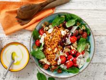 Griechischer Reissalat mit gerösteten Mandeln - Rezept - Bild Nr. 2