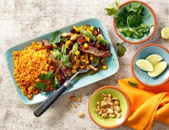 Mexikanisches Spicy- Rindfleisch mit Erdnüssen - Rezept - Bild Nr. 2