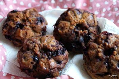 Zuckerreduzierte Blaubeer-Muffins - Rezept - Bild Nr. 2