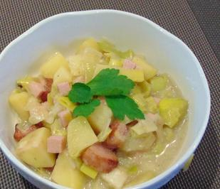 Kartoffel - Lauch - Eintopf - Rezept - Bild Nr. 10