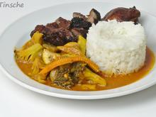 Gemüse-Pilz-Pfanne- Thai-Art - Rezept - Bild Nr. 4
