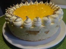 Orangen-Käse-Sahne-Torte - Rezept - Bild Nr. 2