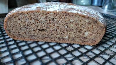 Rezept: Glutenfreies Krustenbrot aus meiner Backstube