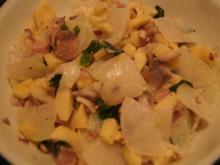 Kohlrabi-Salat mit Matjesfilet - Rezept - Bild Nr. 2