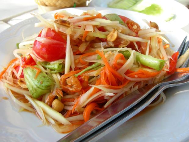 Som Tam: Narumols Papaya-Salat - Rezept - Bild Nr. 2