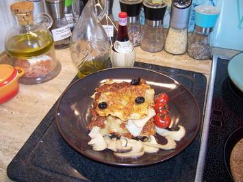 Lasagne mit Steinpilzen - Rezept - Bild Nr. 2
