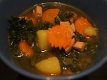 Grünkohleintopf mit Gemüse und Fleischwurst - Rezept - Bild Nr. 2