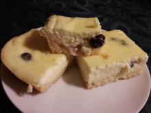 Typisch Lausitzer Quarkkuchen vom Blech, mit Kartoffeln und Leinöl - Rezept - Bild Nr. 3