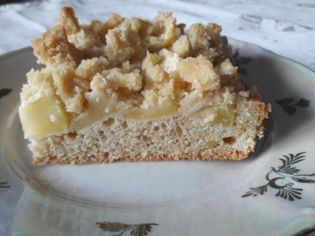 Apfelkuchen mit Streuseln - Rezept - Bild Nr. 3