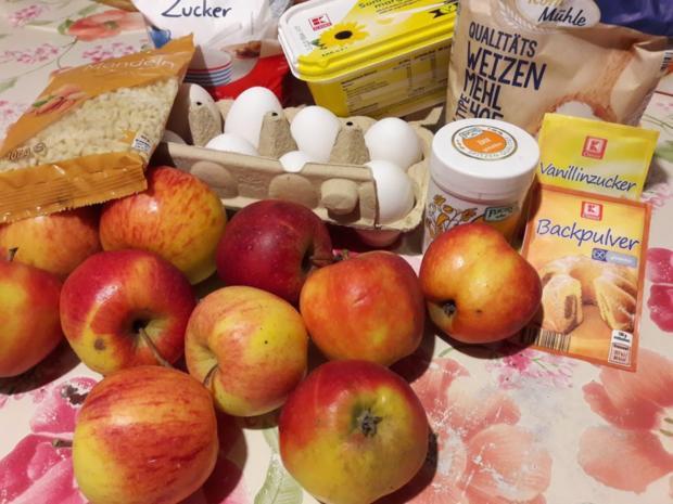 Apfelkuchen mit Streuseln - Rezept - Bild Nr. 4