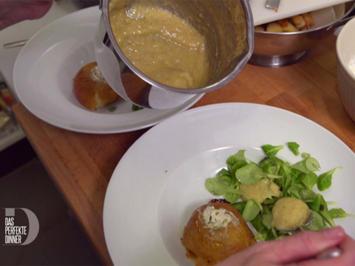 Bratapfel mit Ziegenkäse gefüllt - Rezept - Bild Nr. 2