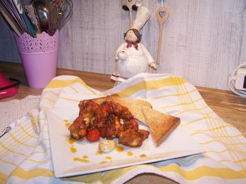 Hähnchen Teile mit Tomaten u. Knoblauch - Rezept - Bild Nr. 2