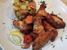 Chicken-Wings Teil 2 mit Beilage - Rezept - Bild Nr. 2