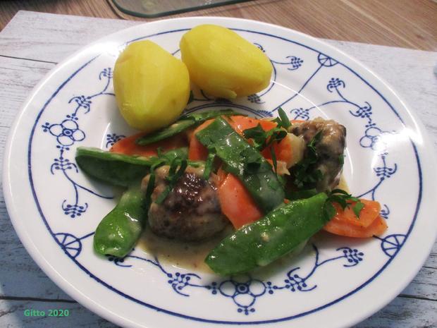 Hackbällchen mit Gemüse-Ragout - Rezept - Bild Nr. 4