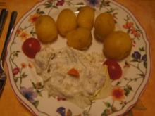 Weißer Heringssalat mit Pellkartoffeln - Rezept - Bild Nr. 2